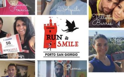 Successo dai contorni internazionali per la Run & Smile!